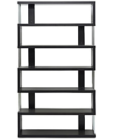 Aurel Modern Bookcase, Quick Ship
