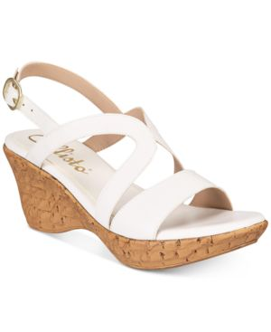 CALLISTO | Callisto Pomfret Platform Wedge Sandals, Created for Macy's Women's Shoes | Goxip