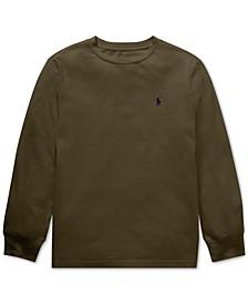 Big Boys Cotton Long-Sleeve T-Shirt