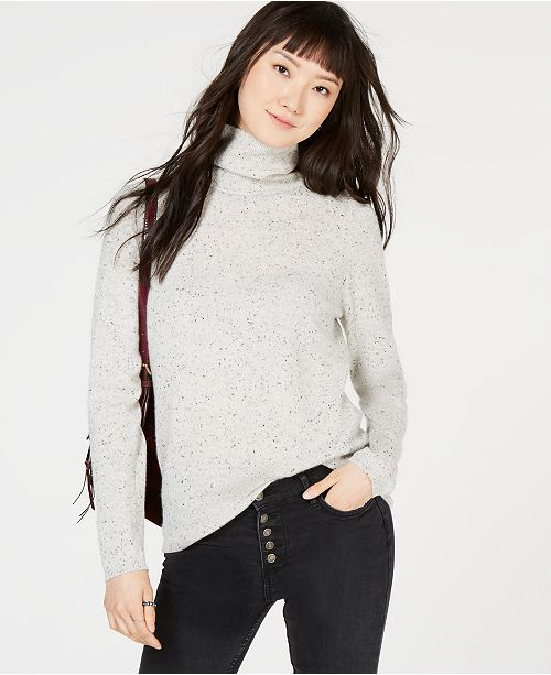 Heather Sweater Created Turtleneck Club Grey Macy's Charter Cashmere for Ice gxq6nzw