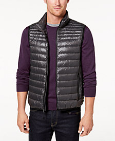 Calvin Klein Men's Packable Full-Zip Puffer Vest