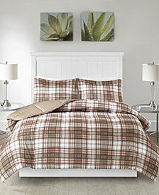 Madison Park Essentials Parkston Reversible 3-Pc. Full/Queen Comforter Set
