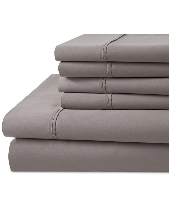 Elite Home 1000 Thread Count 6-Pc. California King Sheet Set
