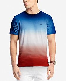 Tommy Hilfiger Men's Ombré Dip-Dyed T-Shirt, Created for Macy's