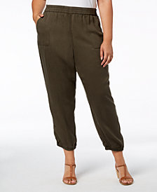 Style & Co Plus Size Casual Joggers, Created for Macy's