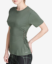 DKNY Sport Side-Tie T-Shirt