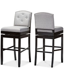 Haldys Swivel Bar Stool (Set of 2)