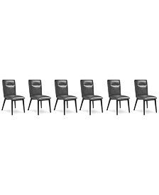 Callisto Dining Chair, Set of 6, Created for Macy's