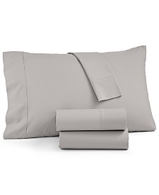CLOSEOUT! AQ Textiles York 4-Pc King Sheet Set, 600 Thread Count Cotton Blend, Created for Macy's