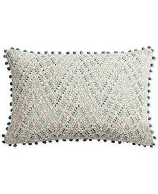 "Lucky Brand Pom Pom 16"" x 24"" Decorative Pillow, Created for Macy's"