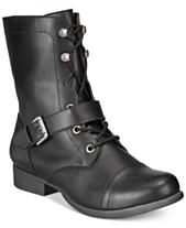 ded0990470b5 American Rag Farahh Combat Booties, Created for Macy's