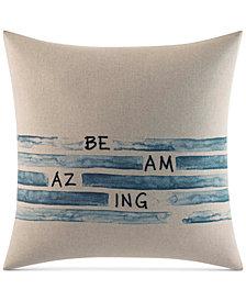 ED Ellen Degeneres Be Amazing Square Decorative Pillow