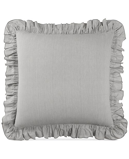 Lucky Brand CLOSEOUT! Cotton Tile Seed Stitch European Sham, Created for Macy's