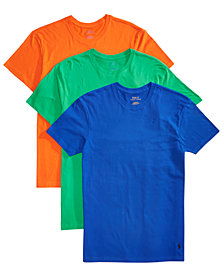 Polo Ralph Lauren Men's 3-Pk. Classic Crew-Neck Shirts
