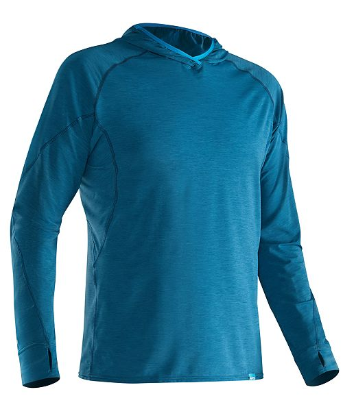 NRS Men's H2Core Silkweight Paddling Hoodie from Eastern Mountain Sports