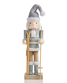 Holiday Lane Santa Skiing Nutcracker, Created for Macy's