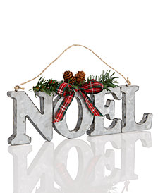 Holiday Lane Iron Noel Ornament, Created for Macy's