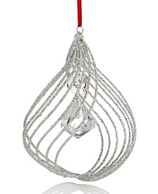 Holiday Lane Beaded Onion Shaped Ornament, Created for Macy's