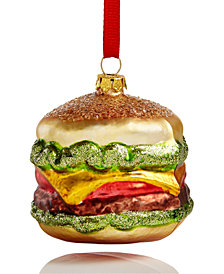 Holiday Lane Hamburger Ornament, Created for Macy's