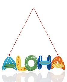 Holiday Lane Hawaii Aloha Ornament Created For Macy's