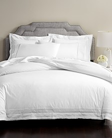 CLOSEOUT! Martha Stewart Collection Signature Lattice Cotton 200-Thread Count 3-Pc. Duvet Sets, Created for Macy's