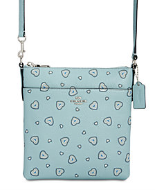 COACH Heart Messenger Mini Crossbody