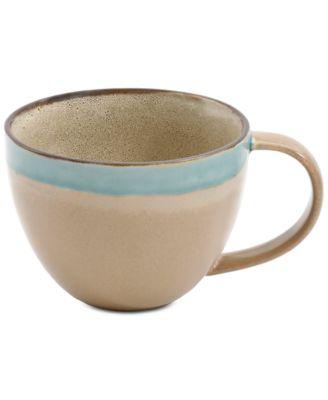 Elite Reactive Glaze Taupe Mug