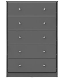 Dalen 5-Drawer Chest, Quick Ship