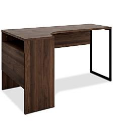 Alsan 2-Drawer Desk, Quick Ship