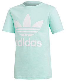 adidas Originals Big Girls Trefoil Graphic-Print T-Shirt