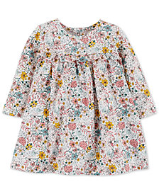 Carter's Baby Girls Floral-Print Cotton Dress