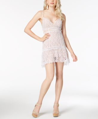 Mini Dresses with Lace