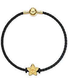 Chow Tai Fook Puppy Star Braided Bracelet in 24k Gold