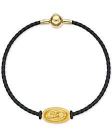 Dragon Braided Bracelet in 24k Gold