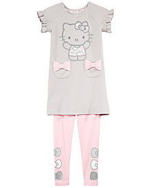 Hello Kitty Little Girls 2-Pc. Tunic & Leggings Set