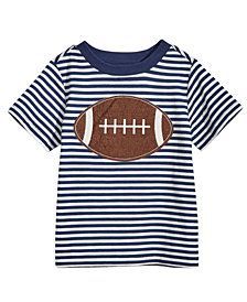 First Impressions Baby Boys Football-Print Cotton T-Shirt, Created for Macy's