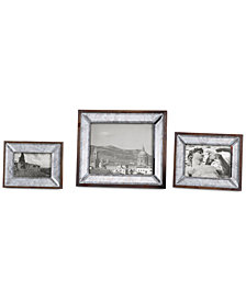 Uttermost Daria Antique Mirror Photo Frames, Set of 3