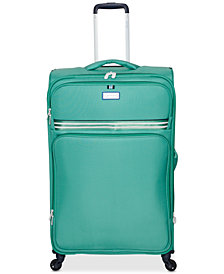 "Jessica Simpson Originals 25"" Softside Expandable Spinner Suitcase"
