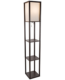 Lavish Home Etagere Floor Lamp