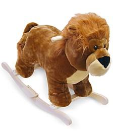 "Happy Trails Lion Plush Rocking Animal, 20"" x 25.5"" x 14.5"""