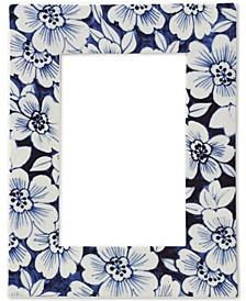 """Floral Porcelain 4"""" X 6"""" Photo Frame"""