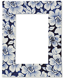 "Lenox Floral Porcelain 4"" X 6"" Photo Frame"