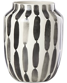"Lenox Brushstrokes Striped 7"" Bouquet Vase"