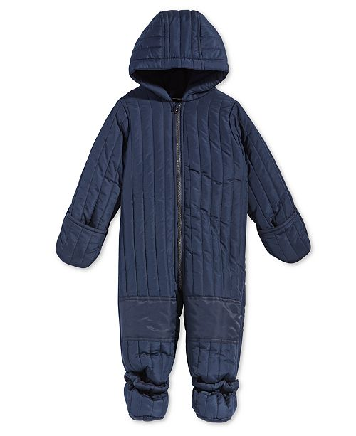 fc8f12f6b First Impressions Baby Boys Hooded Footed Puffer Snowsuit