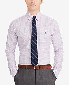 Polo Ralph Lauren Men's Classic Fit Plaid Cotton Shirt