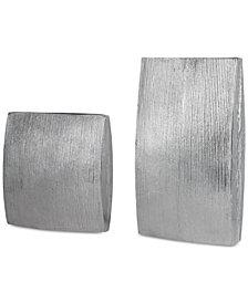 Uttermost Darla Aluminum Vases, Set of 2