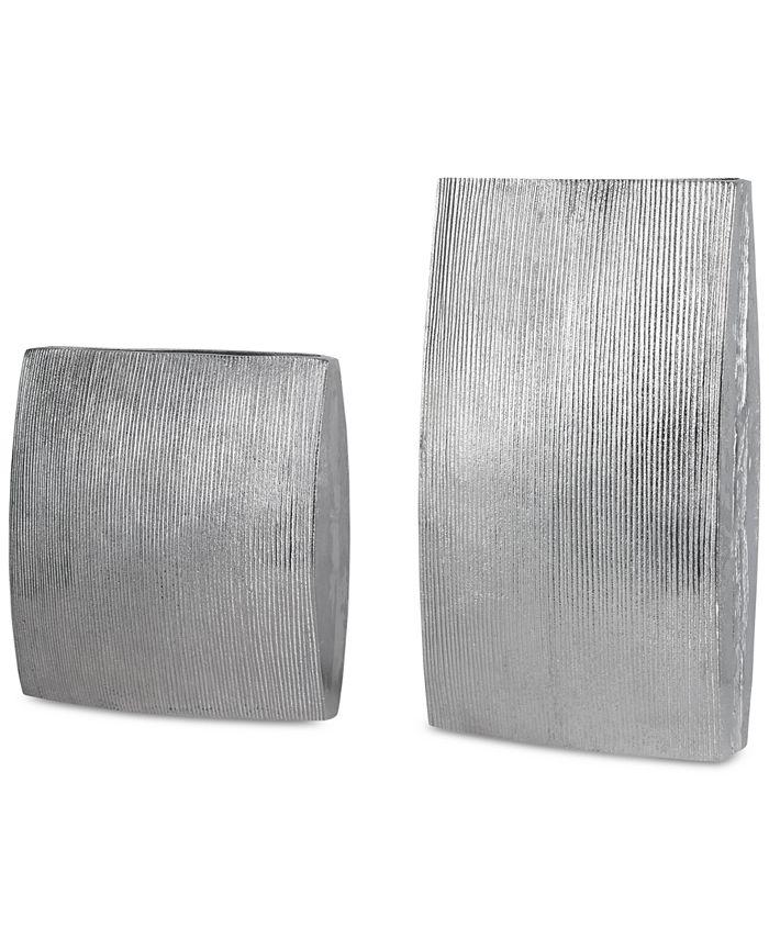 Uttermost - Darla Aluminum Vases, Set of 2