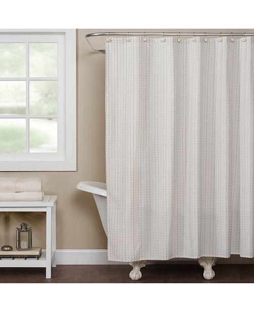 Saturday Knight Hopscotch Grid Shower Curtain