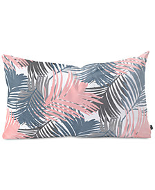 Deny Designs Emanuela Carratoni Pattern Jungle Oblong Throw Pillow