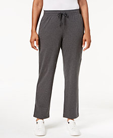 Karen Scott Mid-Rise Drawstring Sweatpants, Created for Macy's